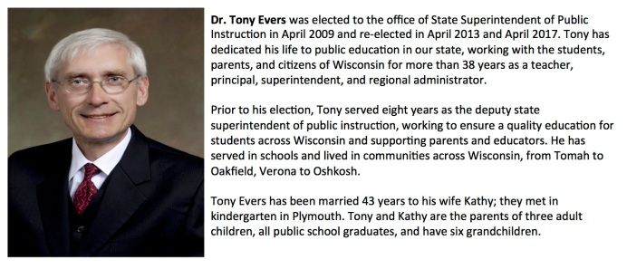 Dr. Tony Evers